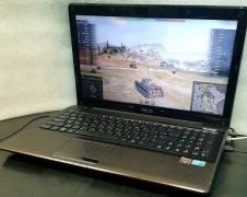 Игровой ноутбук Asus A52J (core i7, 8 гиг, мощная видеокарта)
