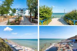 Отель Жемчужина прибоя, Кирилловка, отдых на море