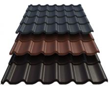 Selling metal products, corrugated board and metal tiles, wholesale and retail