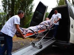 Transportation of patients across Kiev and the Region
